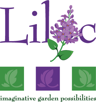 lilac garden design logo