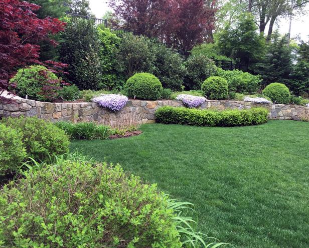Bronxville portfolio lilac garden design for Garden design portfolio