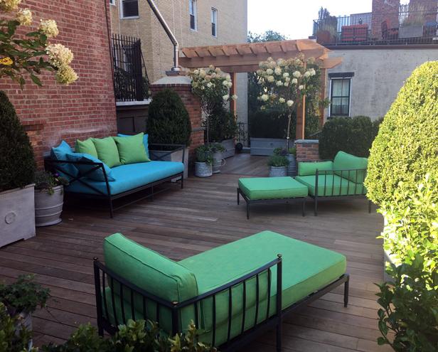 Lilac Garden Design