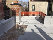 Rooftop Terrace Before